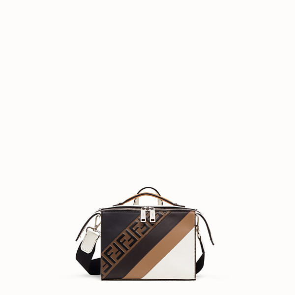 FENDI MINI LUI BAG - White Romano leather bag - view 1 small thumbnail