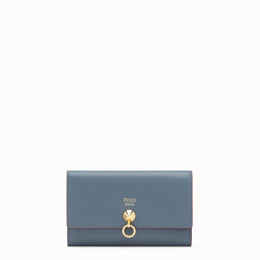 FENDI CONTINENTAL MEDIUM - Two-tone leather wallet - view 1 detail