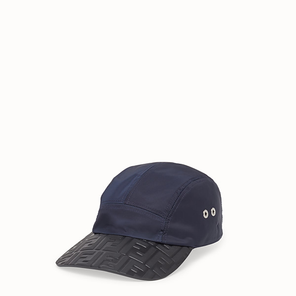 FENDI HAT - Blue tech fabric baseball cap - view 1 small thumbnail