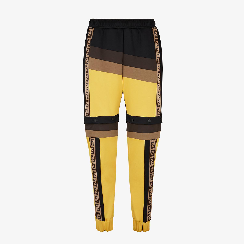 FENDI PANTS - Multicolor acetate pants - view 1 detail