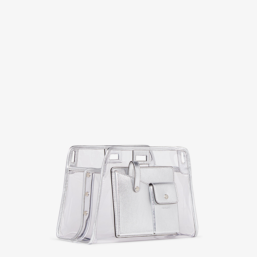 FENDI PEEKABOO DEFENDER MINI - Peekaboo cover in transparent PVC - view 2 detail
