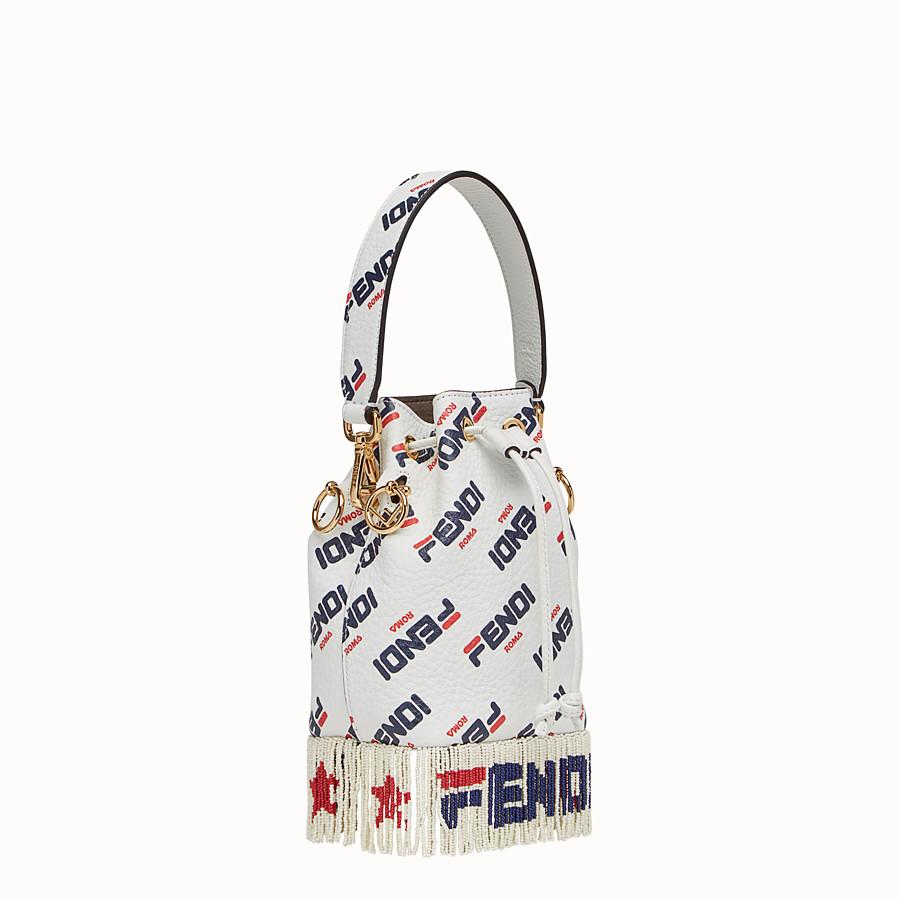 FENDI MON TRESOR - White leather mini-bag - view 2 detail