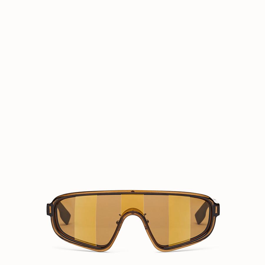 FENDI BOTANICAL FENDI - SS20 Fashion Show brown sunglasses - view 1 detail