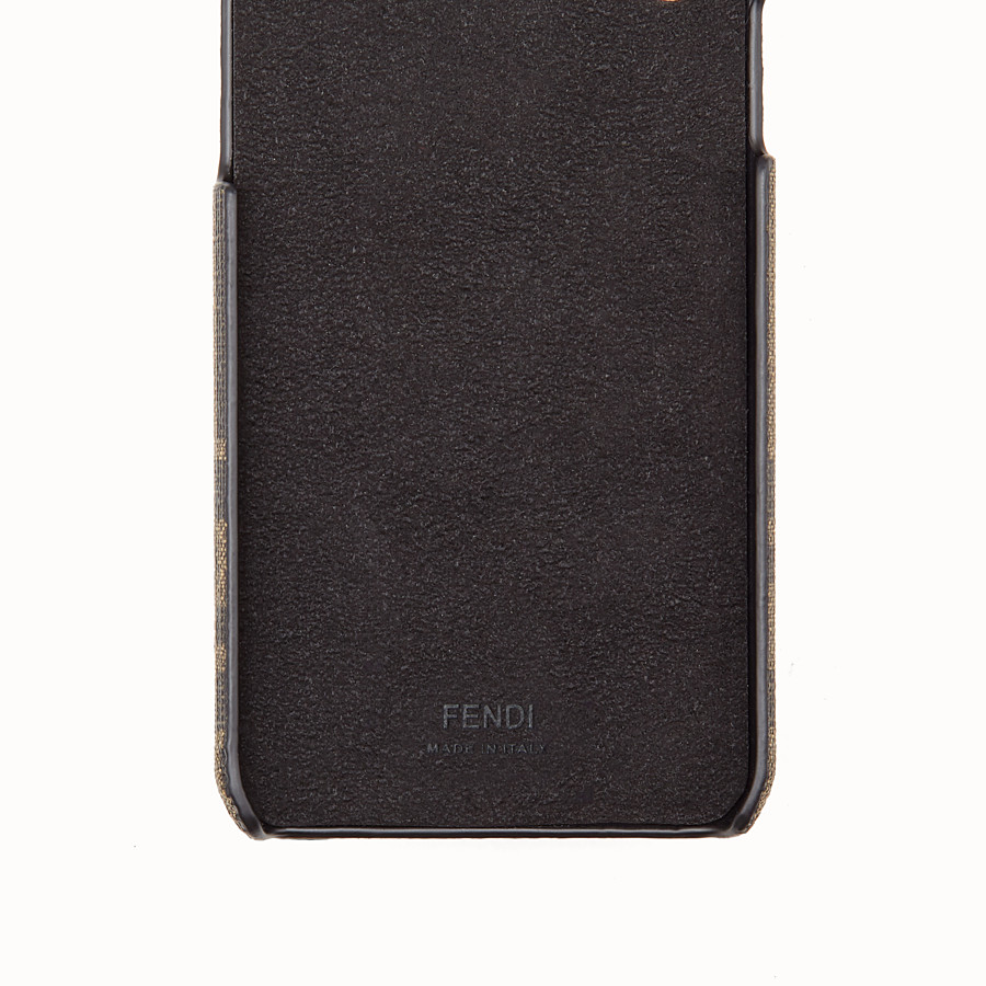 FENDI COVER iPHONE X - Cover marrone - vista 2 dettaglio
