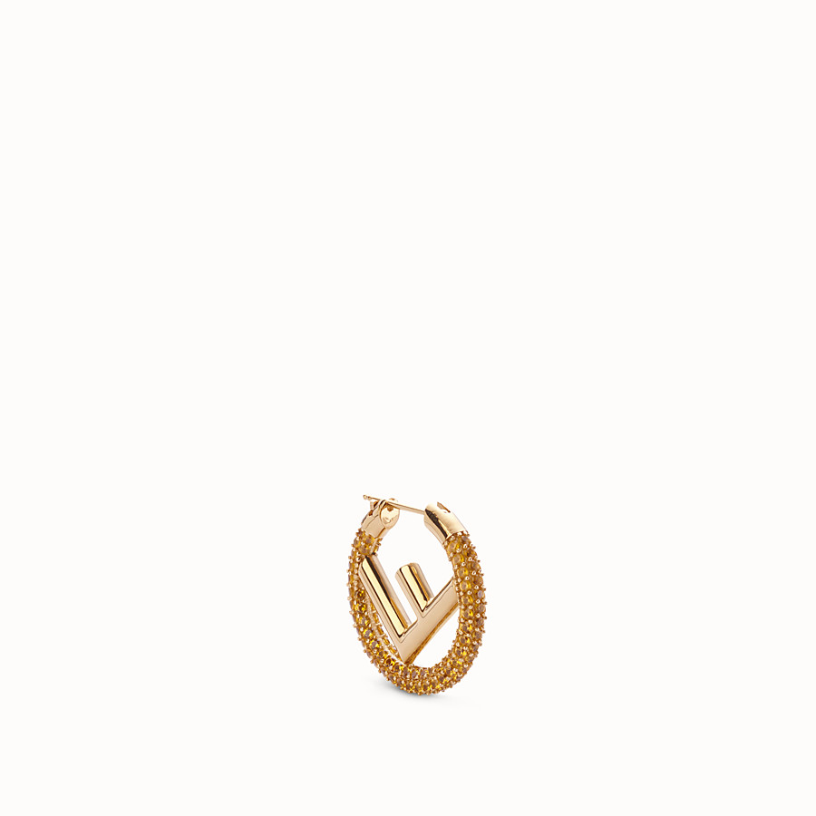 f6147fe03171 Gold-colour earring - F IS FENDI EARRING