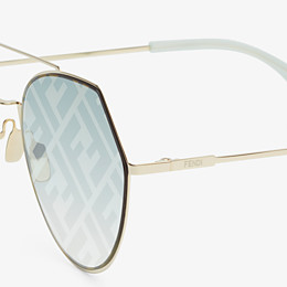 FENDI EYELINE - Gafas de sol doradas - view 3 thumbnail