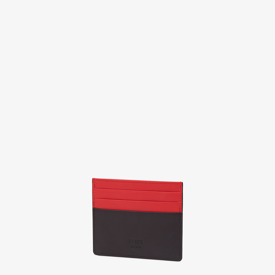 FENDI CARD HOLDER - Multicolour card case - view 2 detail