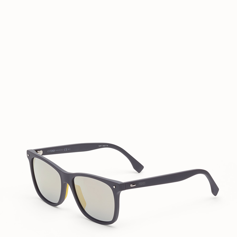 FENDI FENDI SUN FUN - Rectangular havana sunglasses - view 2 detail