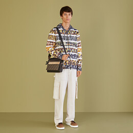 FENDI SWEATSHIRT - Multicolor jersey sweater - view 4 thumbnail