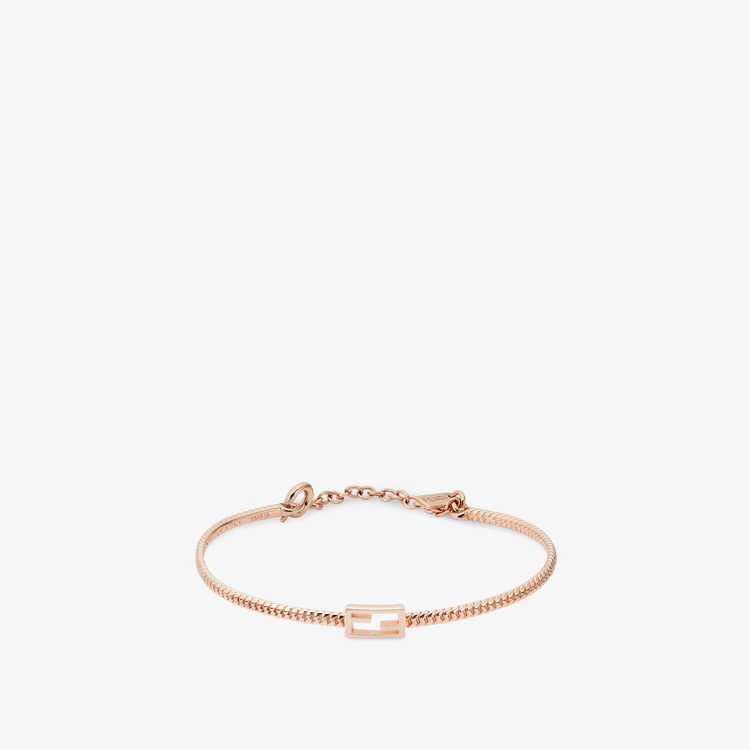 FENDI BAGUETTE BRACELET - Rose-gold bracelet - view 1 detail