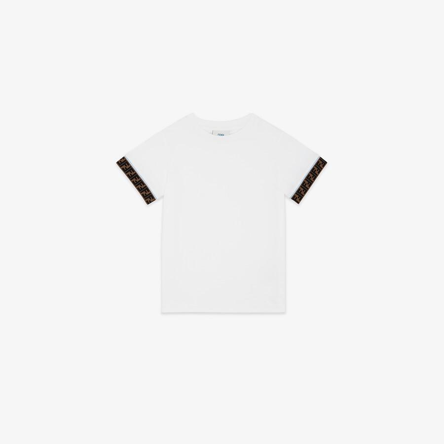 FENDI JUNIOR T-SHIRT - Jersey junior T-shirt - view 1 detail