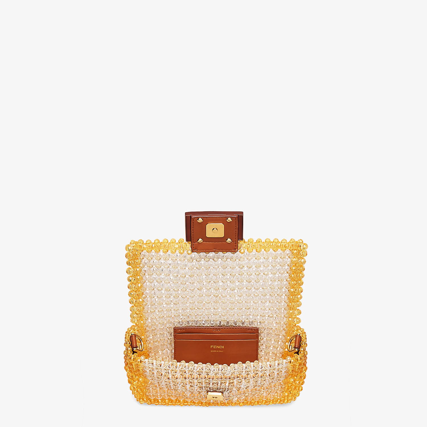 FENDI BAGUETTE - Bag with yellow beads - view 4 detail
