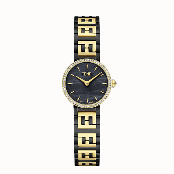 FENDI FOREVER FENDI - 19 MM - Watch with FF logo bracelet - view 1 small thumbnail