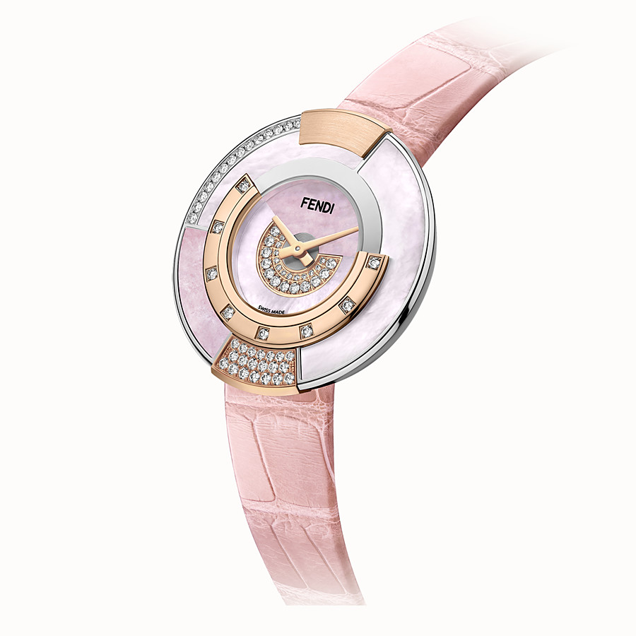 FENDI POLICROMIA - 38 mm - Watch with diamonds and genuine stones - view 2 detail