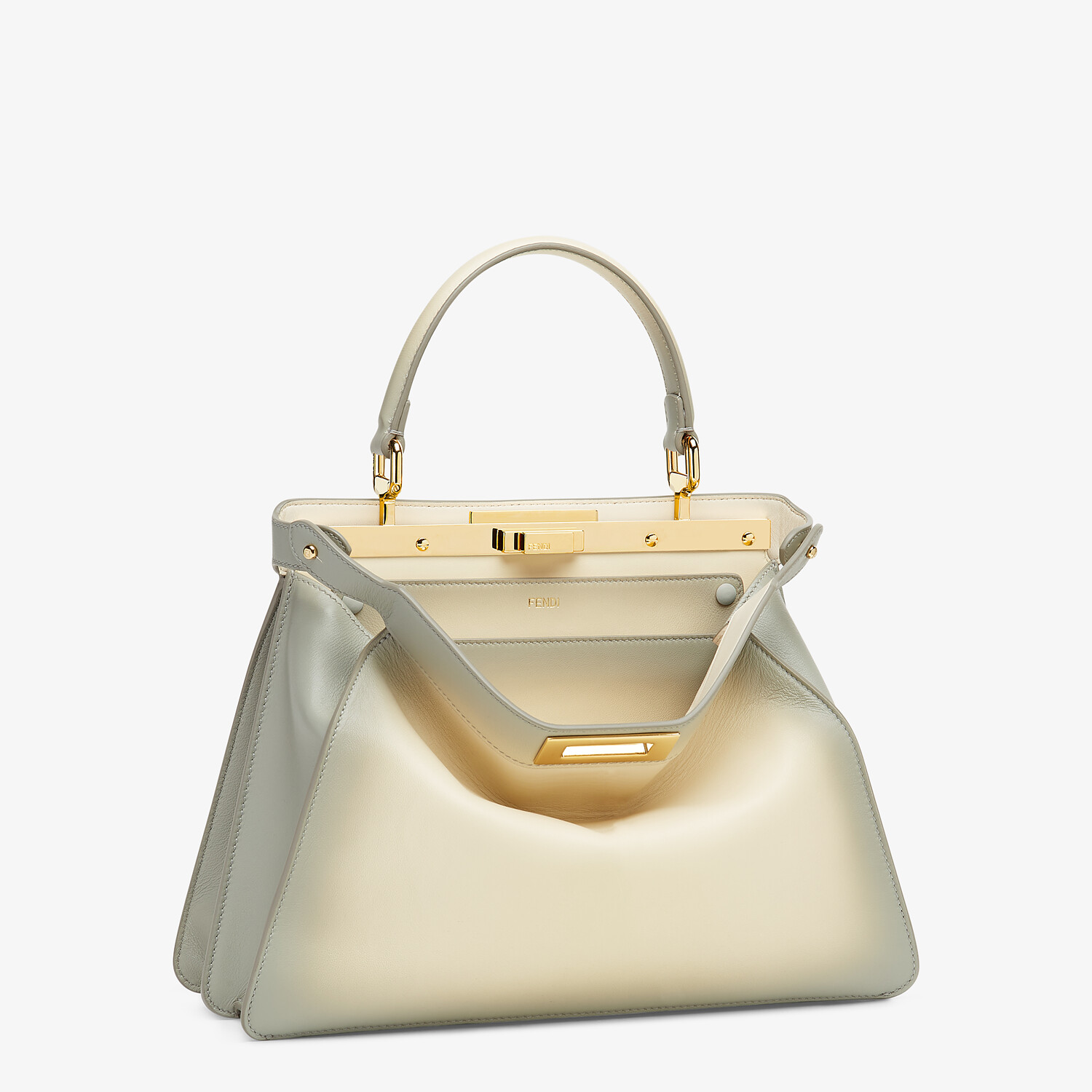 FENDI PEEKABOO ISEEU MEDIUM - White leather bag - view 4 detail