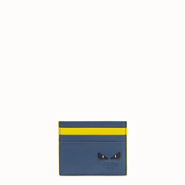 FENDI CARD HOLDER - Multicolor leather card holder - view 1 small thumbnail
