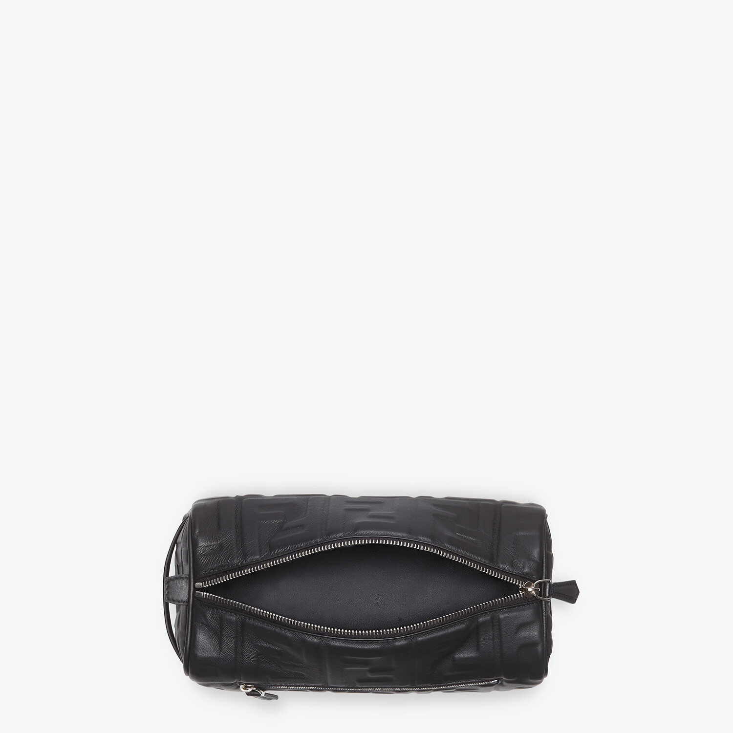 FENDI TRAVEL CASE - Black nappa leather toiletry case - view 4 detail