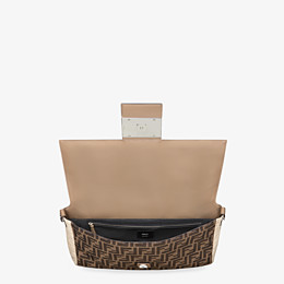 FENDI BAGUETTE LARGE - Brown fabric bag - view 5 thumbnail
