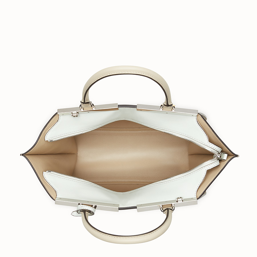 FENDI 3JOURS - Beige leather bag - view 4 detail