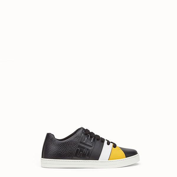 FENDI SNEAKER - Niedriger Sneaker aus Leder in Schwarz - view 1 small thumbnail
