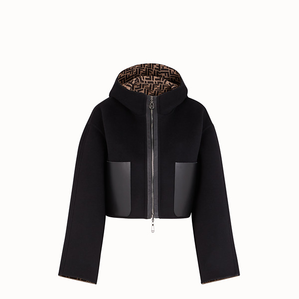 FENDI JACKET - Black wool jacket - view 1 small thumbnail