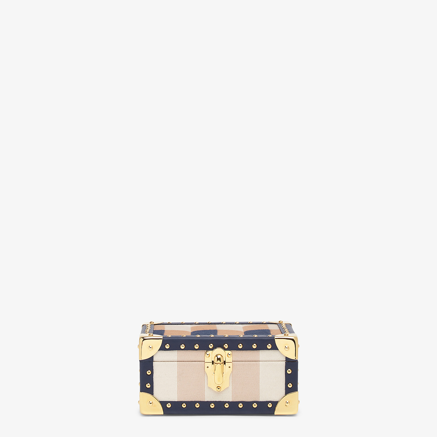 FENDI TRAVEL CASE SMALL - Travel case in multicolor jacquard - view 1 detail