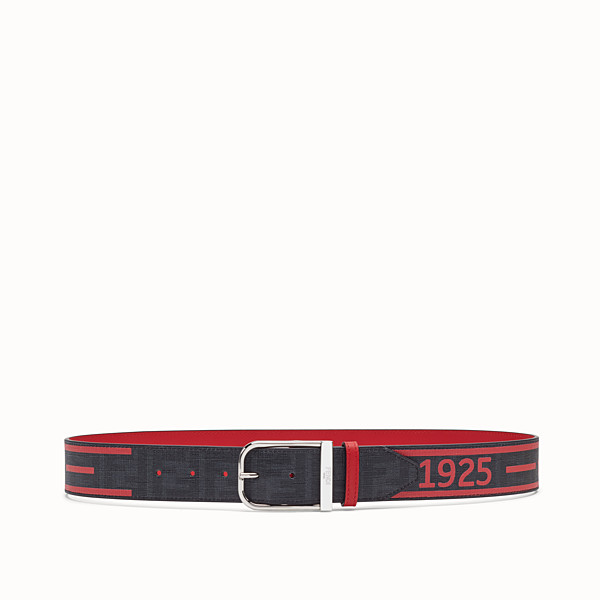 FENDI BELT - Black PU belt - view 1 small thumbnail