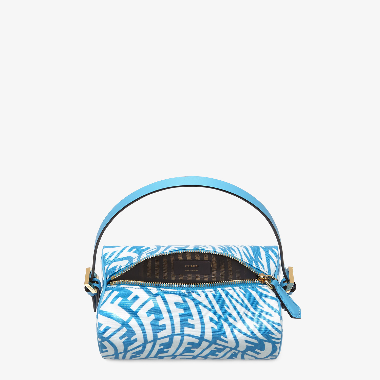 FENDI MINI BAG - Blue glazed canvas mini-bag - view 5 detail