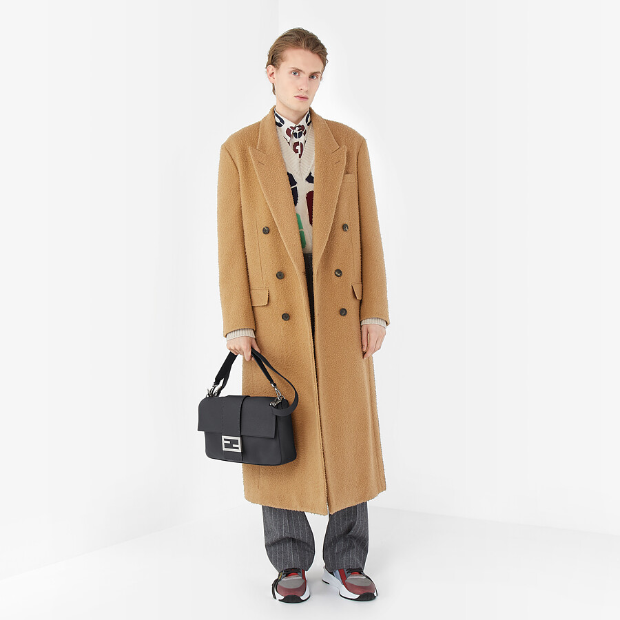 FENDI COAT - Beige wool coat - view 4 detail