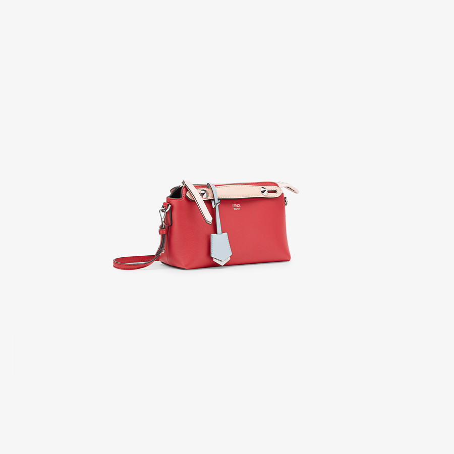 FENDI BY THE WAY BABY - Mini By The Way aus Leder in Rot - view 2 detail