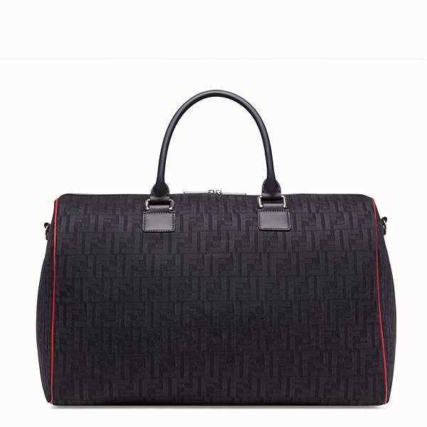 FENDI TRAVEL BAG - Large bag in black tech fabric - view 1 small thumbnail