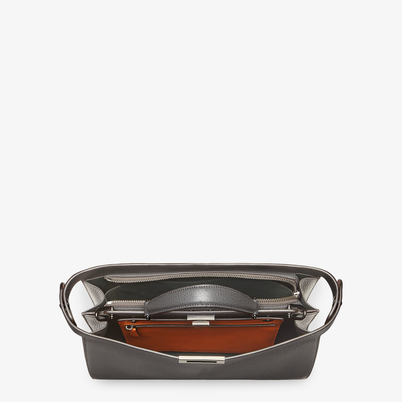 FENDI PEEKABOO ISEEU MEDIUM - Gray leather bag - view 5 detail