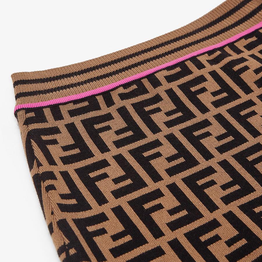FENDI KNITTED JUNIOR SKIRT - Knitted junior skirt - view 3 detail