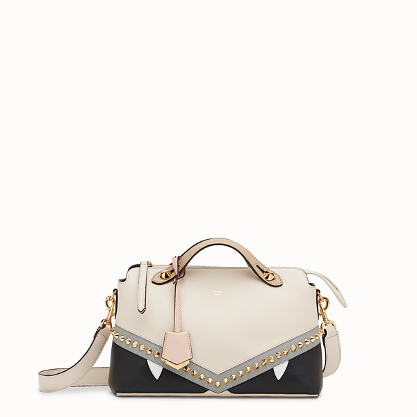 FENDI BY THE WAY REGULAR - Multicolour leather Boston bag - view 1 small thumbnail