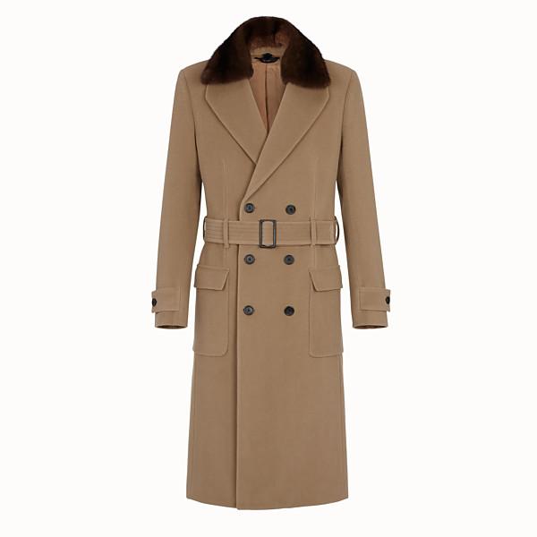 FENDI COAT - Brown wool coat - view 1 small thumbnail