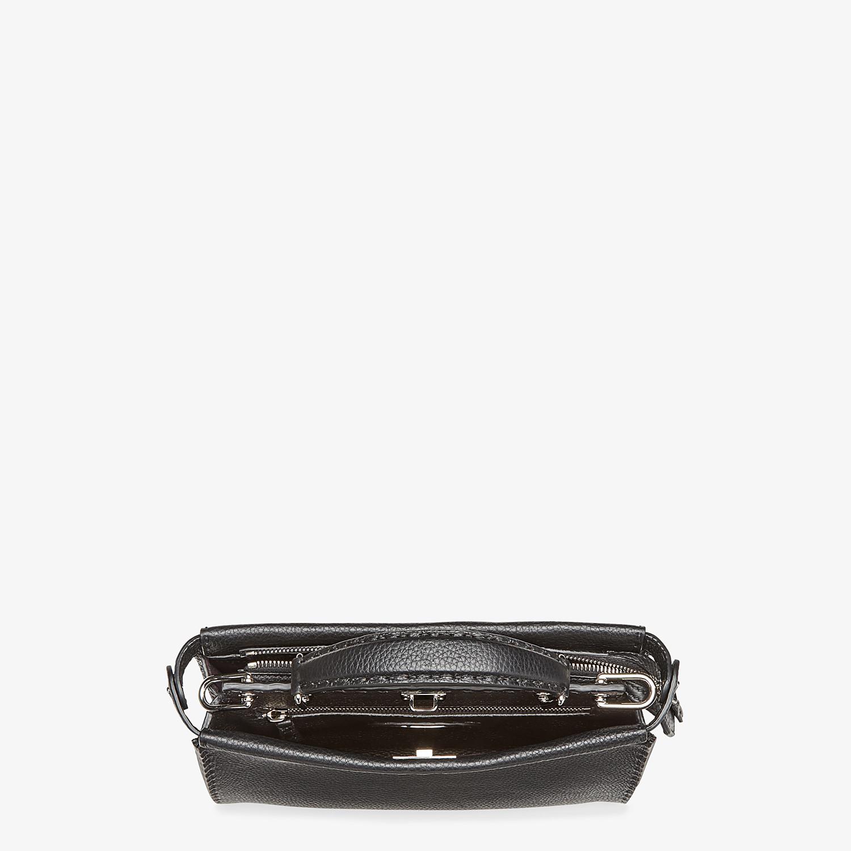 FENDI MINI PEEKABOO FIT - Black leather bag - view 4 detail