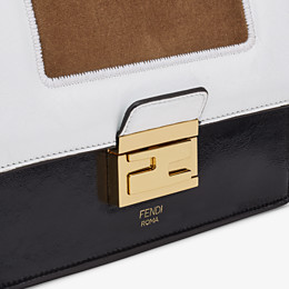 FENDI KAN U SMALL - Leather and suede minibag - view 6 thumbnail