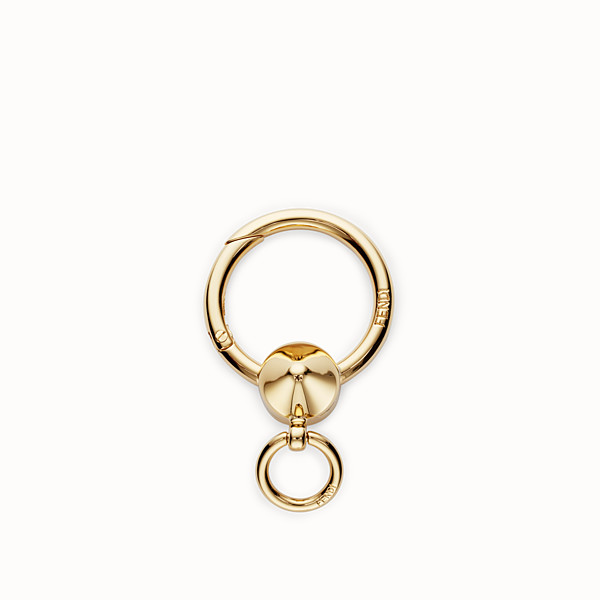 FENDI SPRING CLIP - Gold metal spring clip - view 1 small thumbnail