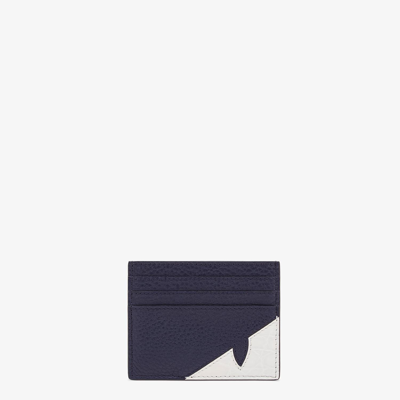 FENDI PORTACARTE - Portatessere in pelle blu - vista 1 dettaglio