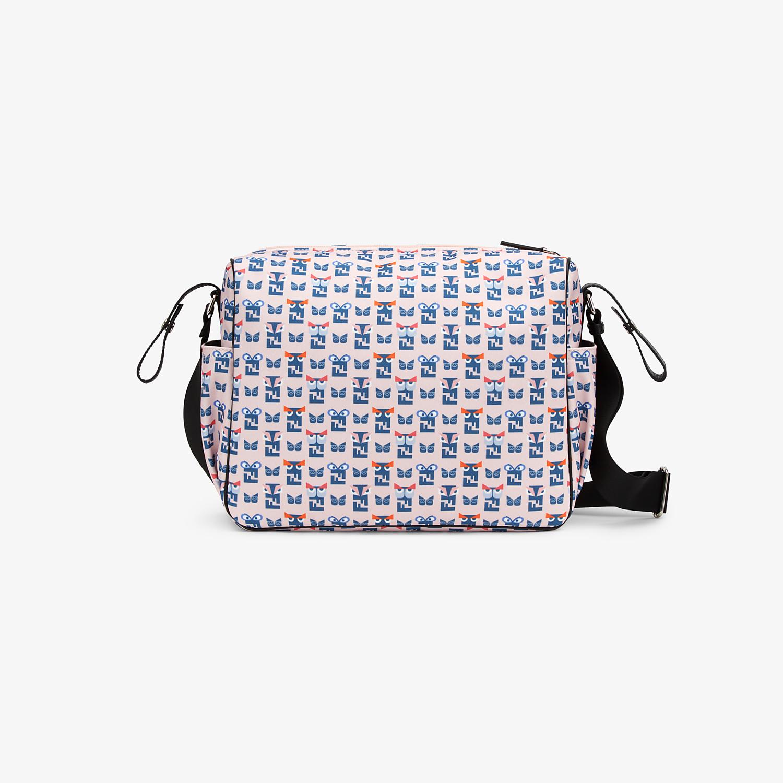 FENDI CHANGING BAG - Changing Bag in tessuto di colore rosa con stampa monster - vista 3 dettaglio