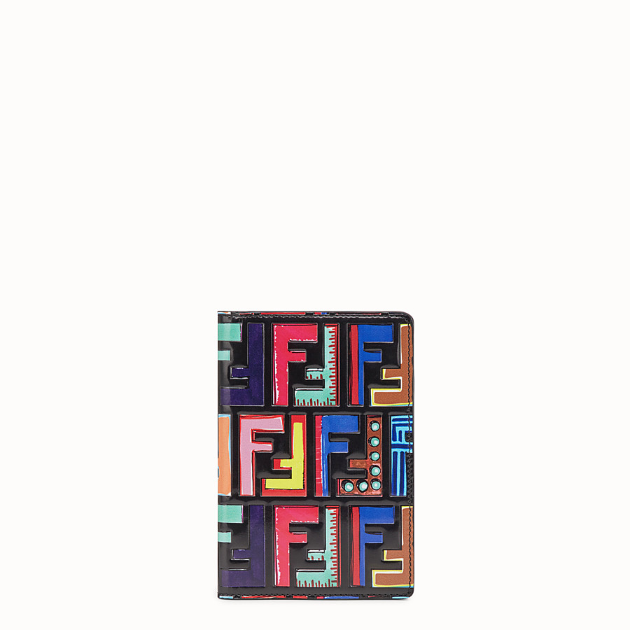 FENDI PASSPORT HOLDER - Multicolour case - view 1 detail