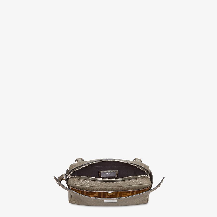 FENDI BELT BAG - Green leather belt bag - view 6 detail