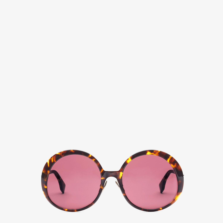 FENDI PROMENEYE - Brown sunglasses - view 1 detail