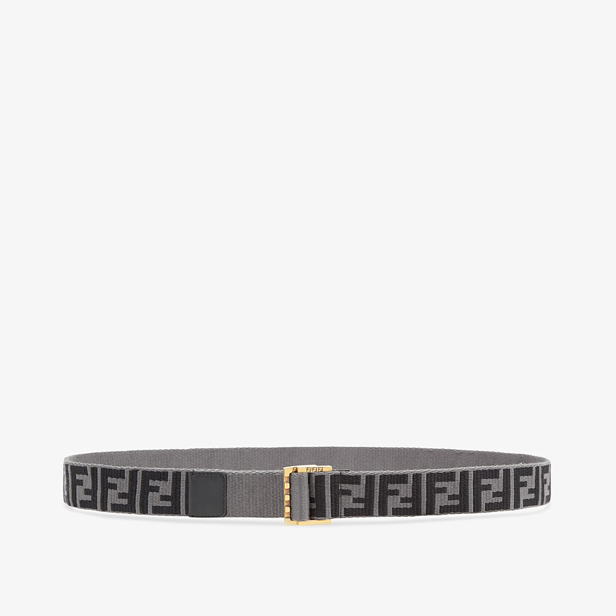 FENDI BELT - Multicolour fabric belt - view 1 detail