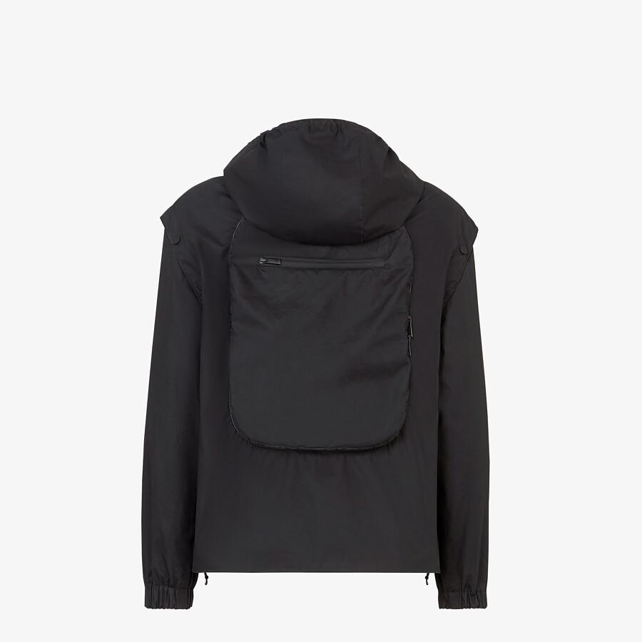 FENDI WINDBREAKER - Multicolour nylon jacket - view 2 detail