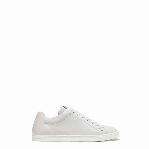 e90a8b62fac3 Chaussures en Cuir et Fourrure de Luxe Hommes   Fendi