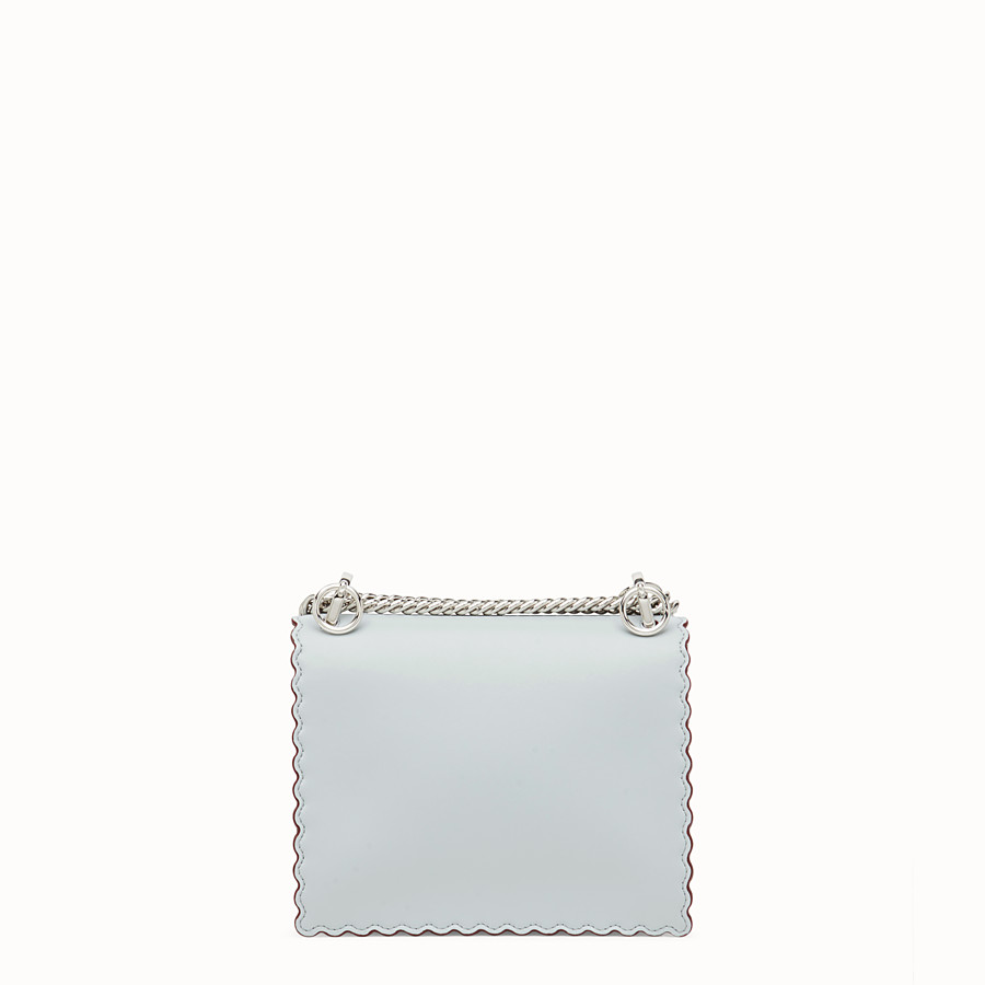 FENDI KAN I SMALL - Gray leather mini-bag - view 3 detail