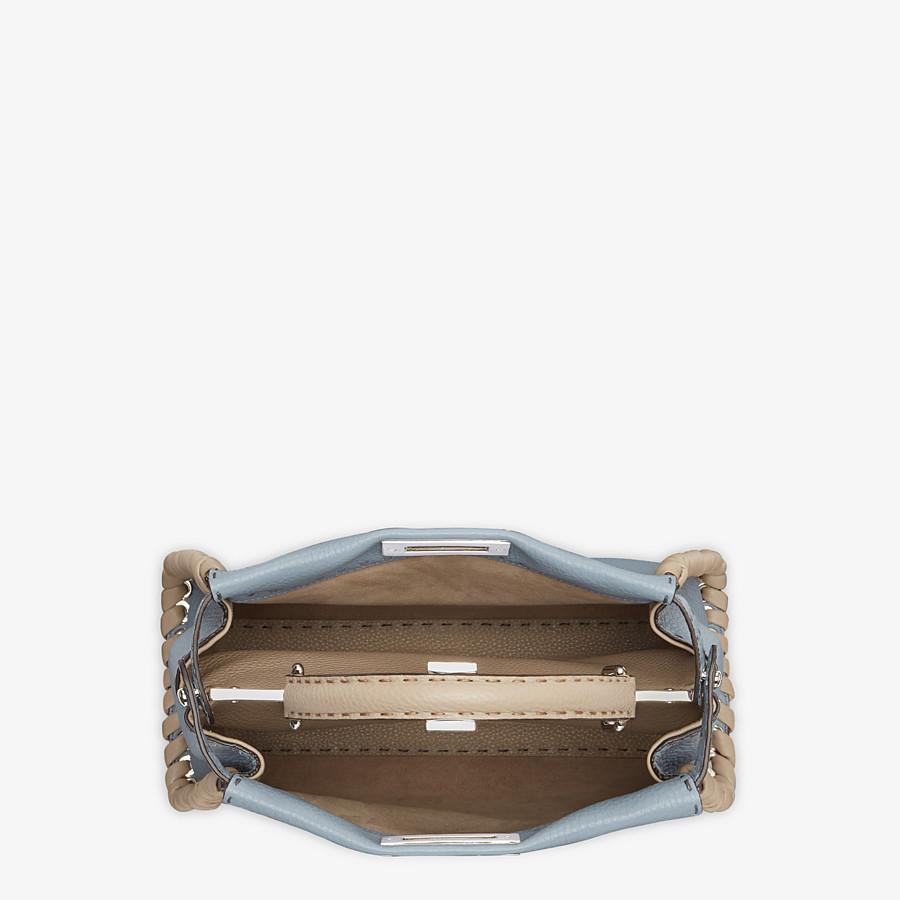 FENDI PEEKABOO ICONIC MEDIUM - Pale blue leather bag - view 5 detail