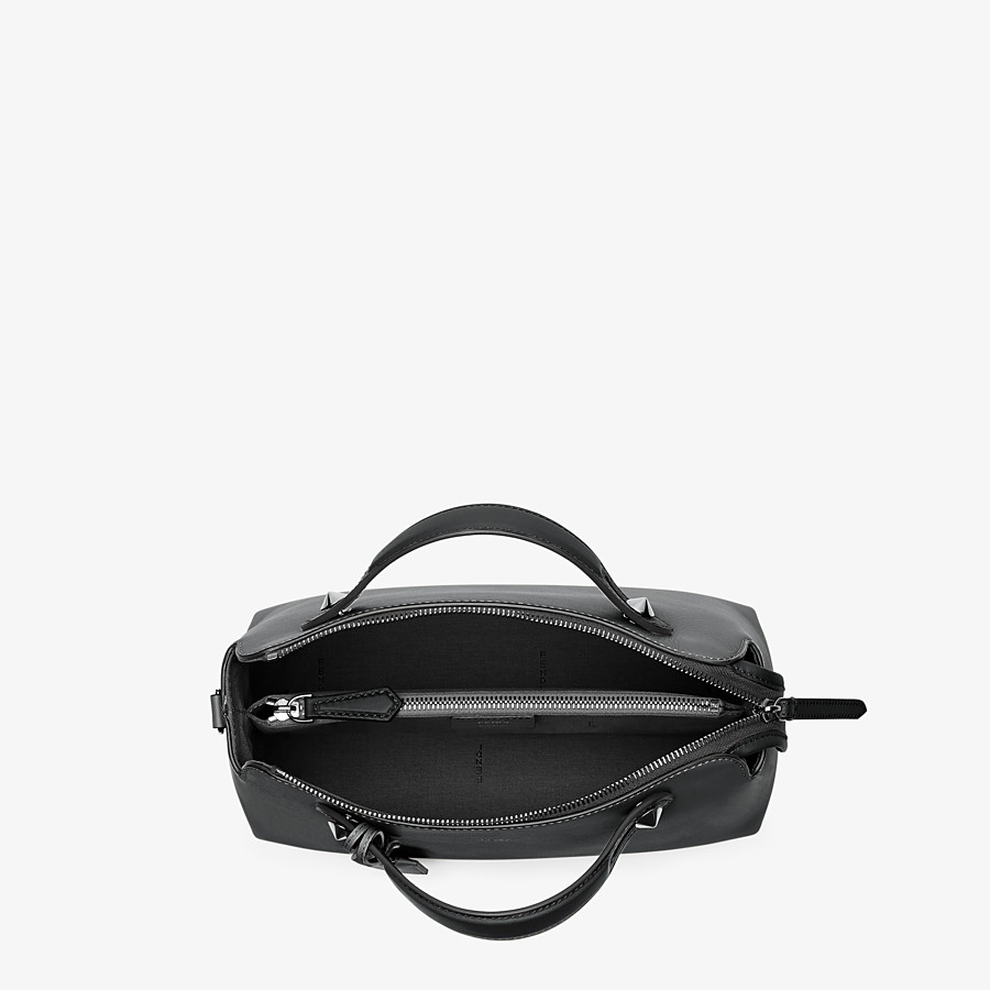 FENDI BY THE WAY MEDIUM - Black leather Boston bag - view 4 detail