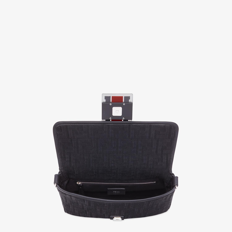 FENDI BAGUETTE - Black tech fabric bag - view 5 detail
